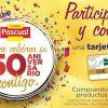 Promo 50 Aniversario de Calidad Pascual regala tarjetas de 50€