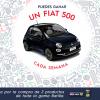 Sorteo de 5 coches Fiat 500 con la Promoción Barilla