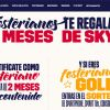 2 meses gratis de SKY con Foster's Hollywood y sorteo de iPhone, iPad, consolas, TV y más