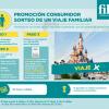Sorteo de viaje a Disneyland París valorado en 3.000€ con Filvit