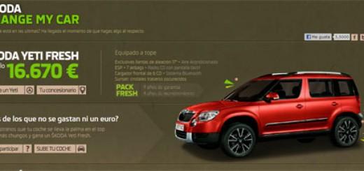concurso coche gratis skoda change my car