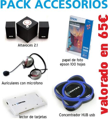 Concurso pack de accesorios tecnologicos