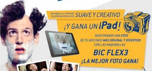 concurso-bic-flex-ipad-gratis