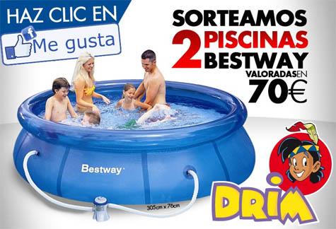 piscina hinchable drim