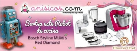 Consigue 1 robot de cocina bosch gratis facesorteos for Robot de cocina bosch mcm4100
