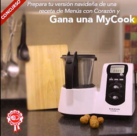 Gana 1 robot de cocina mycook de taurus facesorteos - Robot de cocina taurus mycook 59 precio ...