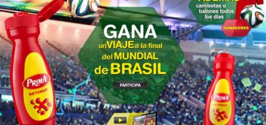 viaje mundial brasil 2014 gratis concurso prima