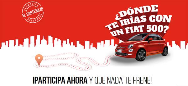 promoción de tefal para ganar coche fiat 500 y premios