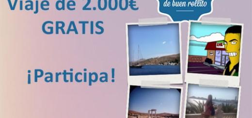 concurso ganar viaje gratis dosmil euros zambon