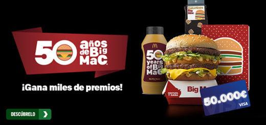 gana premios del 50 aniversario de big mac de macdonals
