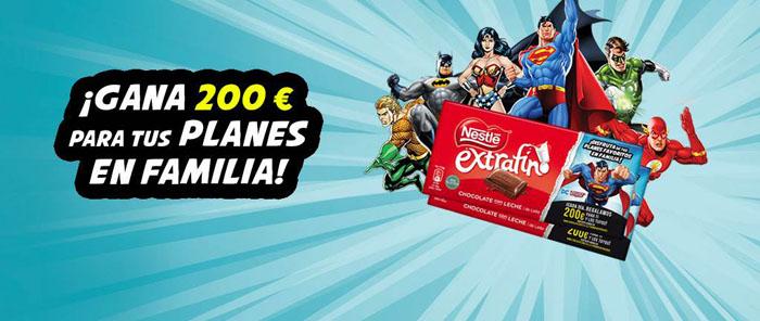 promoción tabletas de chocolate extrafino nestlé