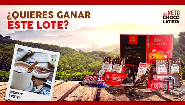 retochocolatista concurso gana un año de chocolate gratis nestlé