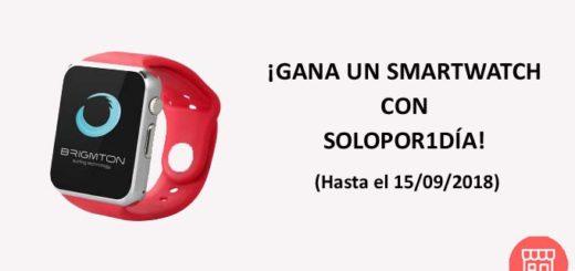 sorteo de smartwatch con solopor1día