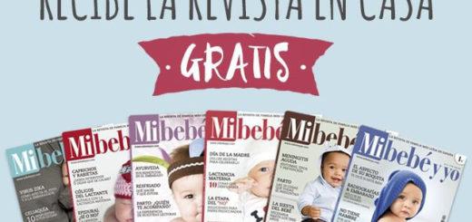 suscripción gratuita revista mi bebé y yo con sorteos y concursos