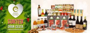 sorteo cesta de alimentos ecológicos de la rioja