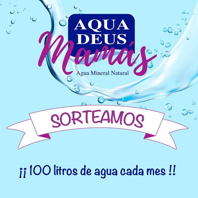gana 100 litros de agua cada mes con el sorteo de aquadeus