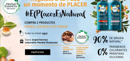 gana packs de experiencias y scaperooms con herbal essences
