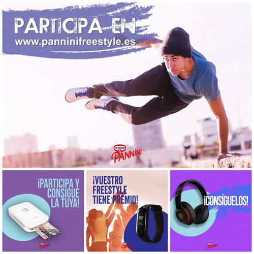gana con la promoción de pannini patinete, cascos beats, impresora HP y pulseras xiaomi
