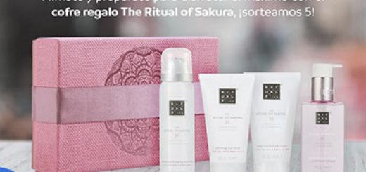 sorteo día de la madre de mayoral para ganar uno de los 5 lotes de cofres regalo de the ritual of sakura de rituals