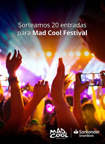 Sorteo de 20 entradas para el festival de Mad Cool de Banco Santander