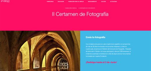 II certamen de fotografía de fundación endesa para ganar hasta 3000€