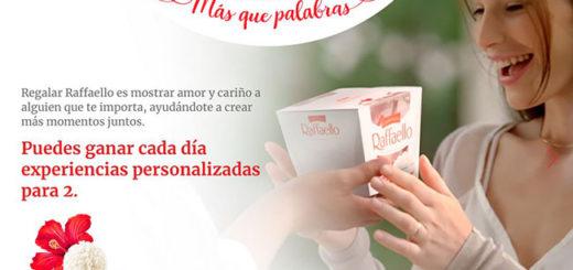 promoción de raffaello para ganar experiencias para 2 personas valoradas en 150 €