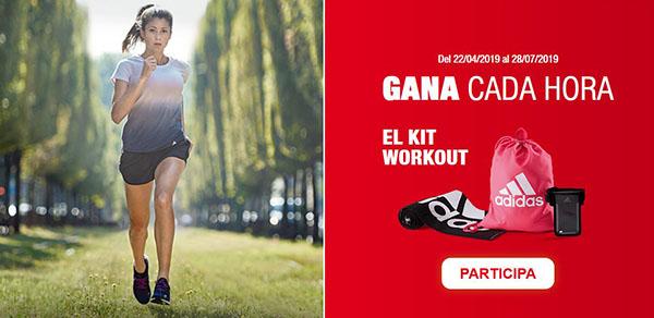 Brújula Bendecir su  ▷ Kit Workout gratis con premios Adidas para hacer deporte en ...
