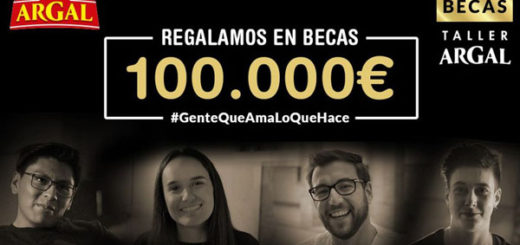 Regalo de 14 becas de hasta 100.000€ de taller argal