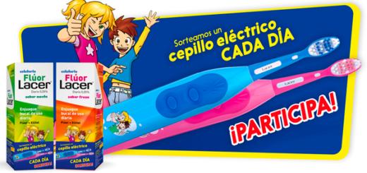 Sorteo de cepillo de dientes eléctrico Junior de Lacer