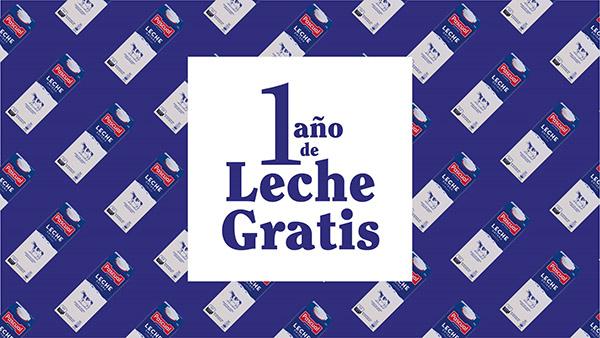 Promoción de Leche Pascual con sorteo de un año de leche gratis