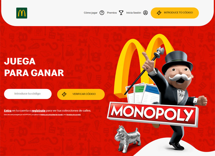 codigos macdonalds monopoly vuelveamcd es