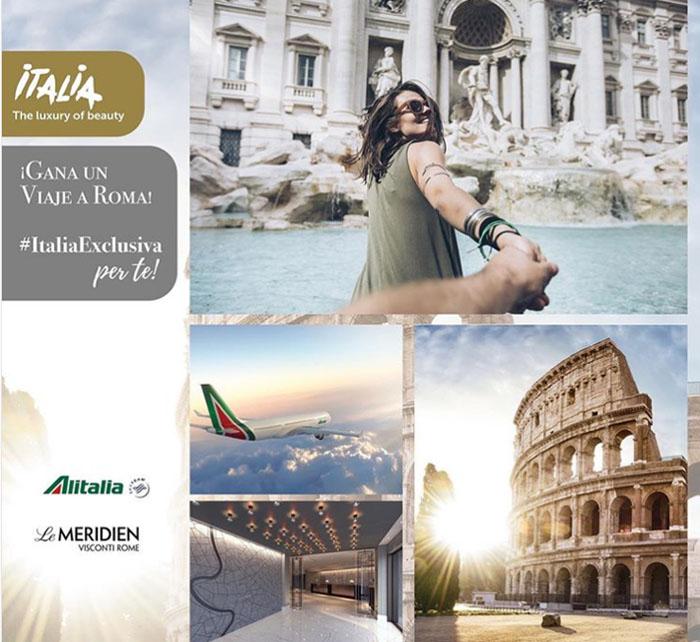italiaexclusiva sorteo viaje roma oficina turismo italia
