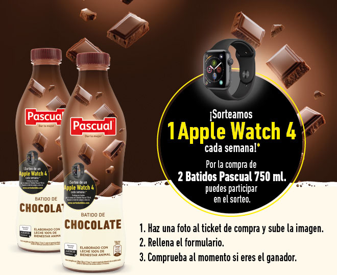 sorteobatidos pascual apple watch