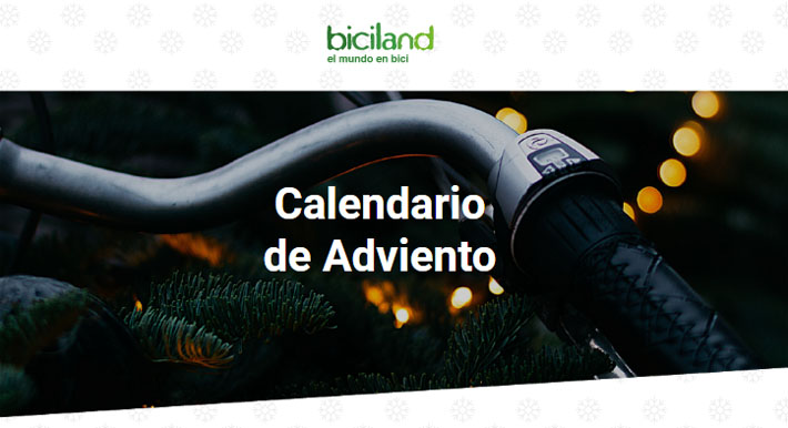 calendario adviento biciland