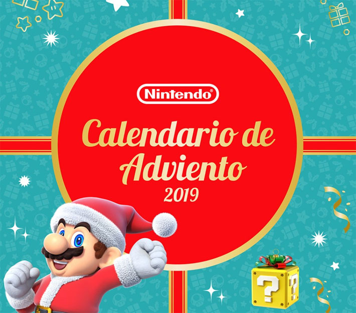 calendario adviento nintendo 2019