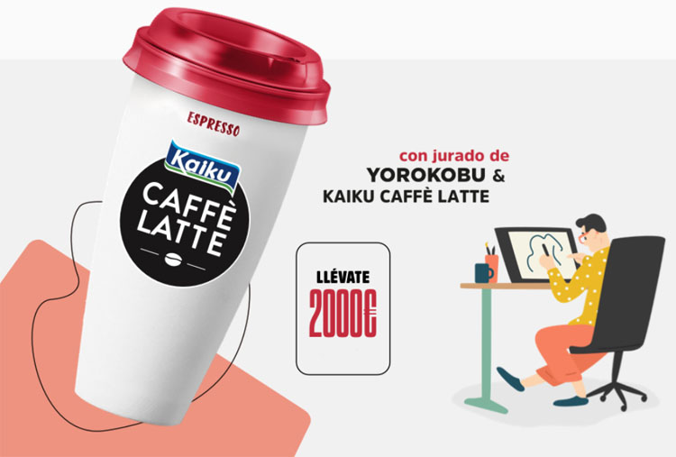 talent hunter kaiku caffe latte concurso 2020