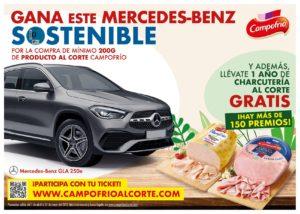 Sorteo Mercedes Benz y charcuteria Campofrio
