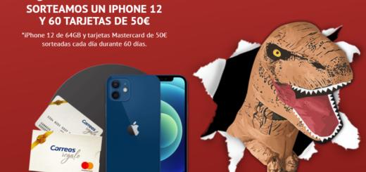 Sorteo iPhone 12 y tarjetas 50 euros con Soudal T-Rex