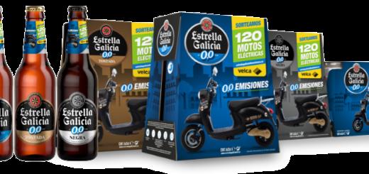 Sorteo 120 motos eléctricas 0,0 emisiones Estrella Galicia