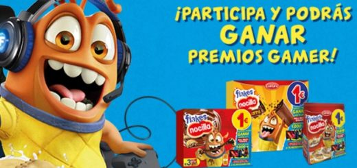Promocion Choco Flakes Gamer