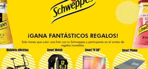Sorteo Bicicleta, iPhone , Apple Watch y Smart TV Schweppes