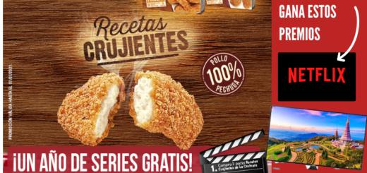 Sorteo tele 8k y un año de series gratis La Cocinera